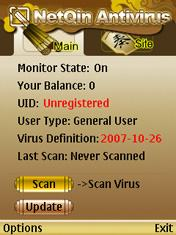 NetQin: free anti-virus for Symbian S60.
