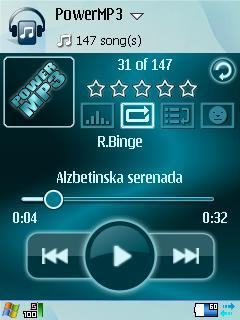 PowerMP3: player de áudio para Symbian S60.